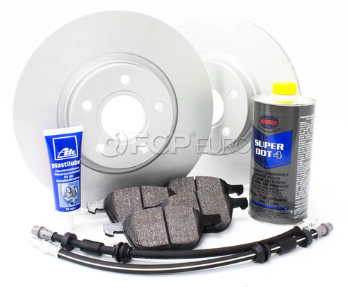 "Volvo Brake Kit 11.81"" Front 8 Piece (C30 S40 V50 C70) - Meyle KIT-P1300FTBK3P8"