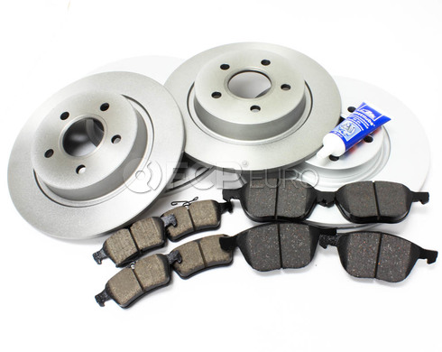 "Volvo Brake Kit 11.81"" Front And Rear (C30 S40 V50 C70) - Meyle KIT-P1300COMPBKKT3"