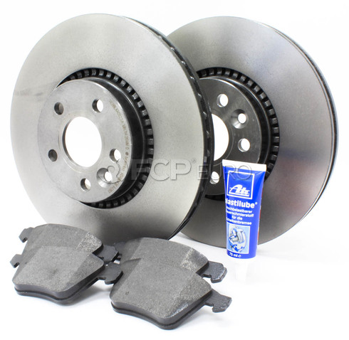 "Volvo Brake Kit 12.44"" Front 5 Piece (S60 V70 XC70 S80) - Brembo KIT-P3316FTBK2P5"