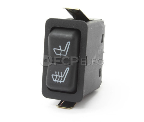 BMW Heated seat Switch (E32 E34) - Genuine BMW 61311374221