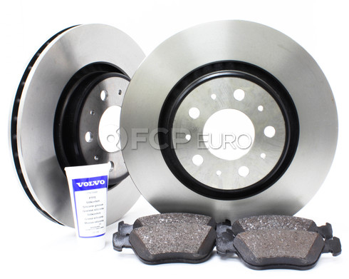 "Volvo Brake Kit 11.89"" Front 5 Piece (850 C70 S70 V70) - Genuine Volvo KIT-P80302FTBKP5"