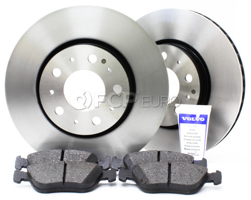 "Volvo Brake Kit 11"" Front 5 Piece (850 C70 S70 V70) - Genuine Volvo KIT-P80280FTBKP5"