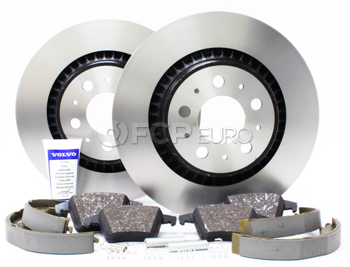 Volvo Brake Kit - Genuine Volvo KIT-P2XC90RBKTP7