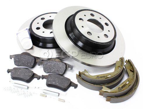 Volvo Brake Kit Rear (S60 V70 XC70 S80) - Genuine Volvo KIT-P2REARBKKTP7