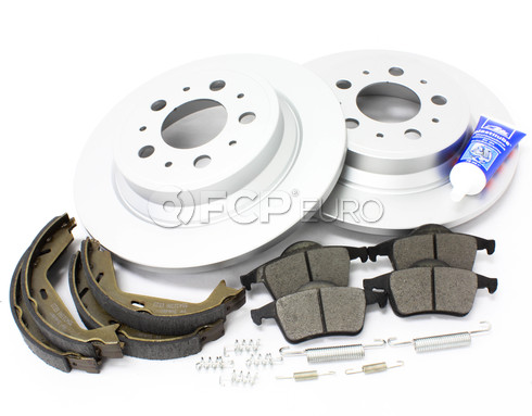 Volvo Brake Kit Rear (S60 V70 XC70 S80) - Meyle KIT-P2REARBKKT3P7