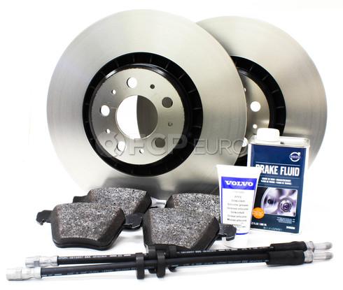 """Volvo Brake Kit Front 13.23""""  8 Piece (XC90) - Genuine Volvo KIT-P2336FTBKP8"""