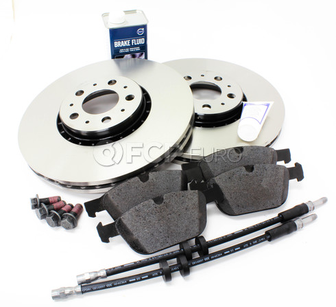 "Volvo Brake Kit Front 12.91""  8 Piece (XC90) - Genuine Volvo KIT-P2328FTBKP8"