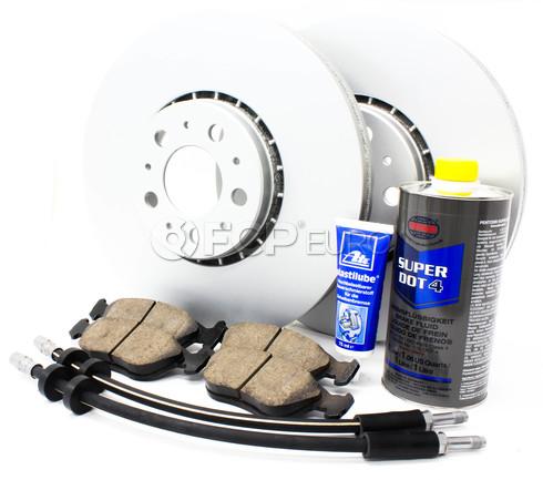 "Volvo Brake Kit Front 12.91"" 8 Piece (XC90) - Meyle KIT-P2328FTBK3P8"
