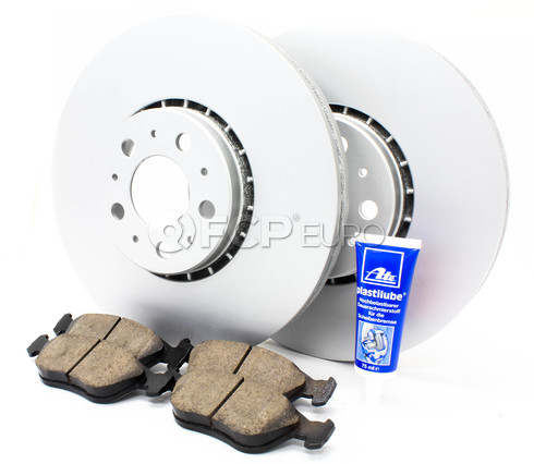 "Volvo Brake Kit Front 12.91"" 5 Piece (XC90) - Meyle KIT-P2328FTBK3P5"