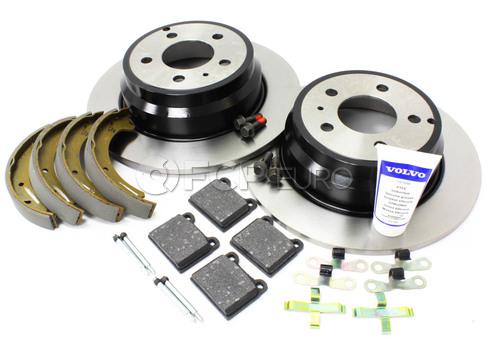 Volvo Brake Kit Rear (850 C70 S70 V70) - Genuine Volvo KIT-P80FWDREARBKKTP7