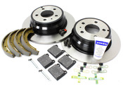 Volvo Brake Kit - Genuine Volvo KIT-P80FWDBKKTP7