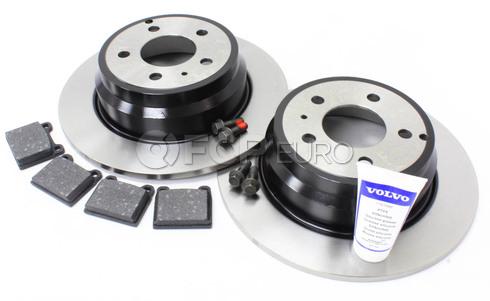 Volvo Brake Kit Rear (850 C70 S70 V70) - Genuine Volvo KIT-P80FWDREARBKKTP5
