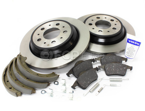 Volvo Brake Kit Rear (S70 V70) - Genuine Volvo KIT-P80AWDREARBKKTP7