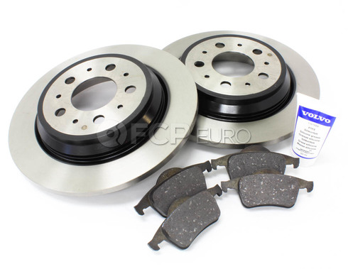 Volvo Brake Kit Rear (S70 V70) - Genuine Volvo KIT-P80AWDREARBKKTP5