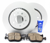 "Volvo Brake Kit 11.89"" 5 Piece - Meyle KIT-P80302FTBK3P5"