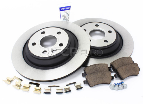 Volvo Brake Kit Rear (S60 V60) - Genuine Volvo KIT-P3SV60RRSOLKTP5