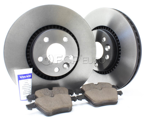 "Volvo Brake Kit 12.44"" Front 5 Piece (S60 V70 XC70 S80) - Genuine Volvo KIT-P3316FTBKP5"