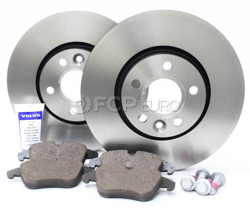 "Volvo Brake Kit 11.81"" Front  (S60 V70 XC70 S80) - Genuine Volvo KIT-P3300FTBKP5"