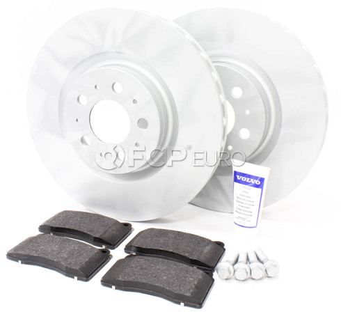 "Volvo Brake Kit Front 13""  5 Piece (S60R V70R) - Genuine Volvo KIT-P2330FTBKP5"