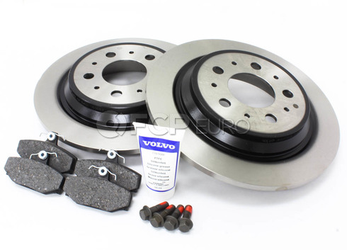 Volvo Brake Kit Rear (S70 V70) - Genuine Volvo KIT-P80AWD2REARBKKTP5