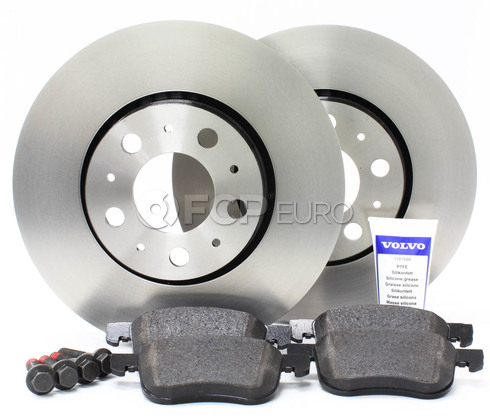 "Volvo Brake Kit 11.25"" Front  5 Piece (S60 V70 XC70 S80) - Genuine Volvo KIT-P2286FTBKP5"