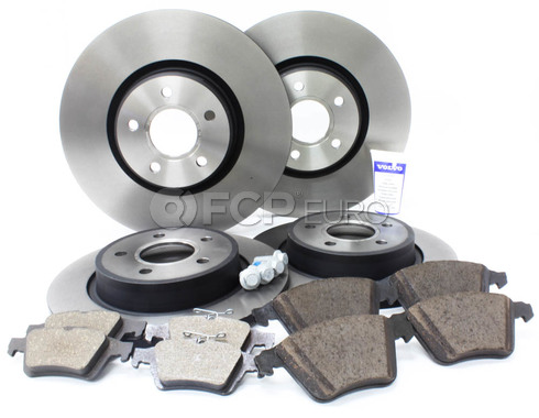 "Volvo Brake Kit 12.6"" Front And Rear (S40 V50 C70) - Genuine Volvo KIT-P1COMPBKKT"