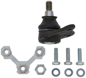 VW Ball Joint Front Right (Beetle Golf Jetta) - TRW 1J0407366J
