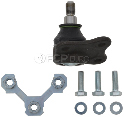VW Ball Joint Front Left (Golf Beetle Jetta) - TRW 1J0407365J