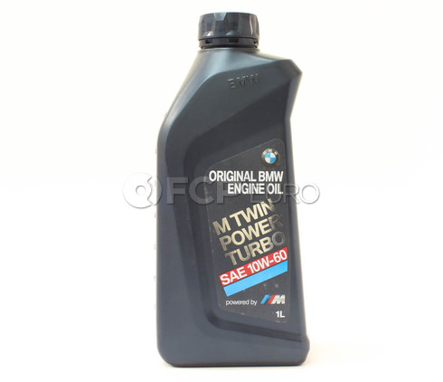 10W60 BMW M TwinPower Turbo  Engine Oil (1 Liter) - Genuine BMW 83212365944