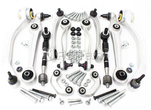 Audi VW Control Arm Kit 12-Piece (Passat A4 A6 S4) - TRW 4D0498998T