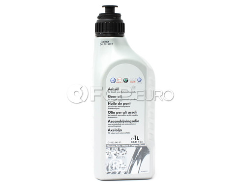 Audi VW Gear Oil Synthetic 75W90 - Genuine VW Audi G052145S2