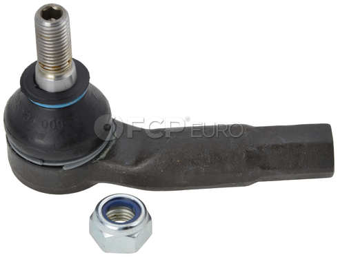 VW Tie Rod End Left Outer (Beetle Golf Jetta) - TRW 1J0422811B