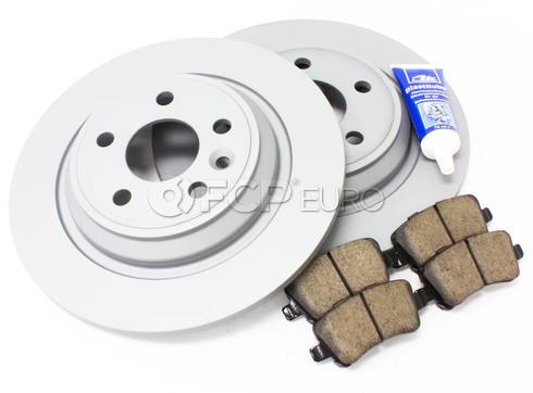 Volvo Brake Kit Rear (S60 V60 V70 XC70 S80) - Zimmerman KIT-P3SV60RRSOLKT3P5