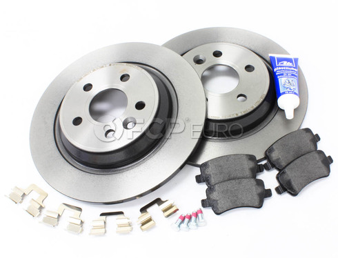 Volvo Brake Kit Rear (S60 V60 V70 XC70 S80) - Brembo KIT-P3SV60RRSOLKT2P5