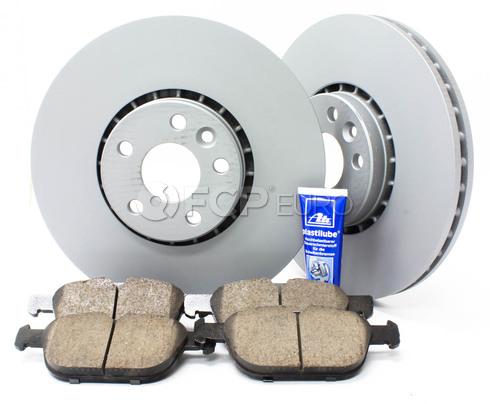 """Volvo Brake Kit 12.91"""" Front 5 Piece (XC60) - Zimmerman KIT-P3328FTBK3P5"""