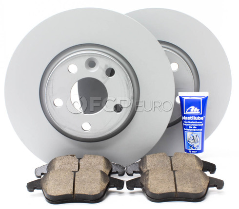 "Volvo Brake Kit 11.81"" Front 5 Piece (S60 V70 XC70 S80) - Zimmerman KIT-P3300FTBK3P5"