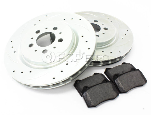 Volvo Brake Kit Rear 5 Piece (S60R V70R) - Elevate / Mintex  KIT-P2RREARBK4P5