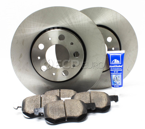 "Volvo Brake Kit 11.25"" Front  5 Piece (S60 V70 XC70 S80) - Meyle KIT-P2286FTBK3P5"