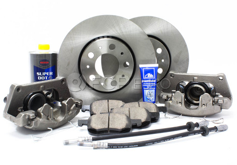 "Volvo Brake Kit 11.25"" Front 10 Piece (S60 V70 XC70 S80) - Meyle KIT-P2286FTBK3P10"