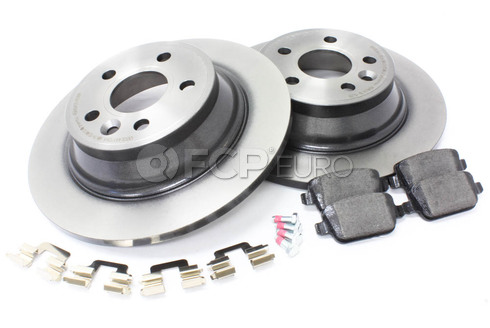 Volvo Brake Kit Rear (V70 XC70 S80) - Brembo KIT-P3REARMANUALKT2P5