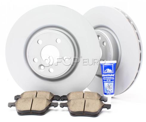 "Volvo Brake Kit 13.23"" Front 5 Piece (S60 V70 XC70 S80) - Zimmerman KIT-P3336FTBK3P5"
