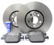 """Volvo 12.91"""" Brake Kit - Brembo/Textar P3328FTBK2P5"""