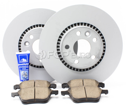 "Volvo Brake Kit 12.44"" Front 5 Piece (S60 V70 XC70 S80) - Zimmerman KIT-P3316FTBK3P5"