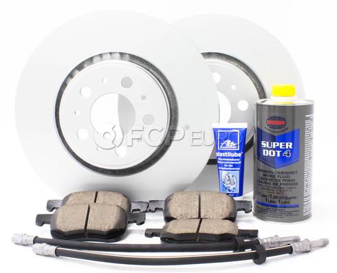 "Volvo Brake Kit 12.6"" Front 8 Piece  (V70XC XC70) - Meyle KIT-P2XC70320FTBK3P8"