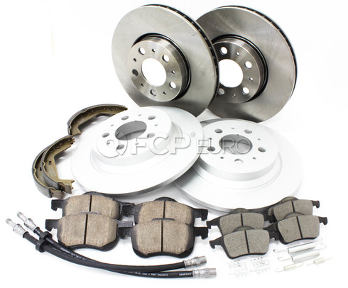 Volvo Brake Kit - Meyle KIT-P2FTANDRBKKT3