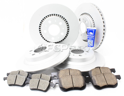 "Volvo Brake Kit 12"" Front And Rear (S60 V70 XC70 S80) - Meyle KIT-P2305FTANDRBKKT3"