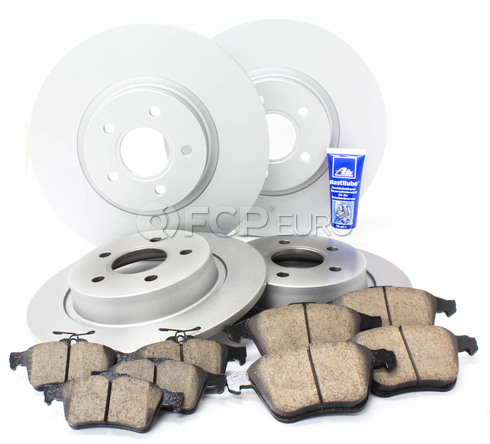 "Volvo Brake Kit 12.6"" Front And Rear (S40 V50 C70) - Meyle KIT-P1COMPBKKT3"