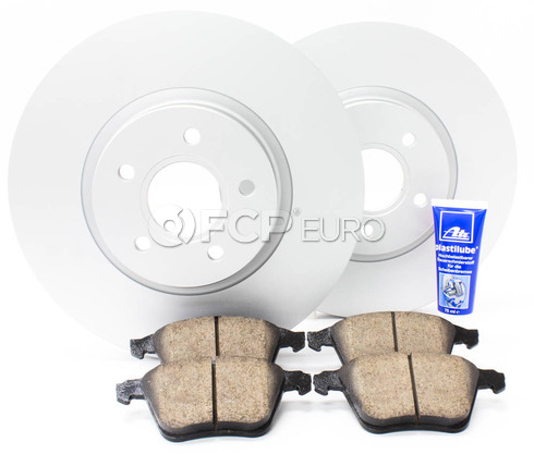 "Volvo Brake Kit 12.6"" Front 5 Piece (S40 V50 C70) - Meyle KIT-P1320FTBK3P5"