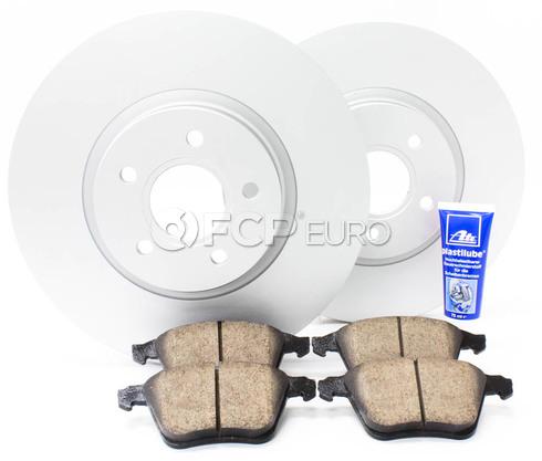 "Volvo Brake Kit 12.6"" Front 5 Piece (S40 V50 C70) - Meyle KIT-P1320FTBK3P5"