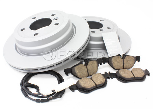 BMW Brake Kit Rear (E90 E92 E91 E93) - Zimmermann/Akebono 34216864901KTF3